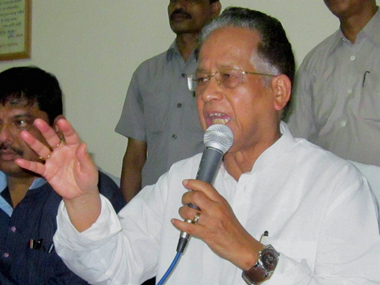 File image of Chief Minister Tarun Gogoi. PTI