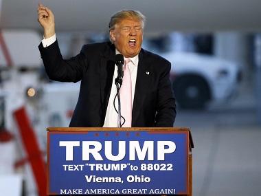 Republican presidential candidate, Donald Trump. AP