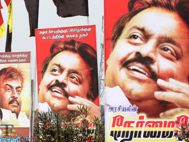 File photo of Vijayakanth
