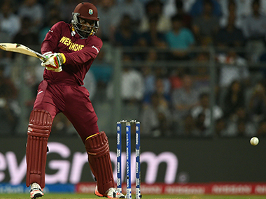 Chris Gayle unleashed a Gaylestorm against South Africa. AFP