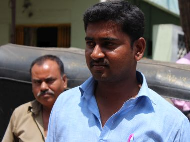 Karthik, another first generation graduate, says the educated youth has no money in hand. Firstpost/Sandhya Ravishankar