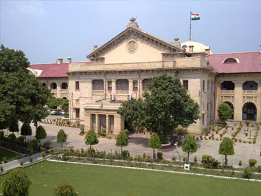 Average pendency of cases at Allahabad High Court is the highest in India. Image courtesy: http://allahabad.nic.in/