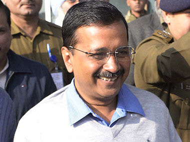 A file photo of Arvind Kejriwal. AFP