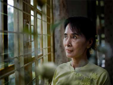 Aung San Su Kyi. Getty images