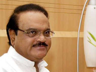 Senior NCP leader Chhagan Bhujbal. AFP