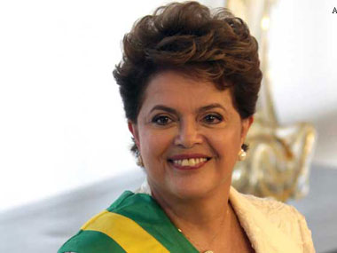 A file photo of President Dilma Rousseff. AP