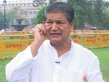 File photo of Harish Rawat. IBN Live