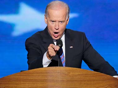 File photo of Joe Biden. AP