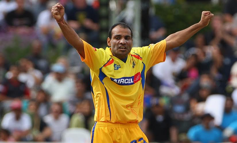 Joginder Sharma with Chennai Super Kings in IPL. Getty