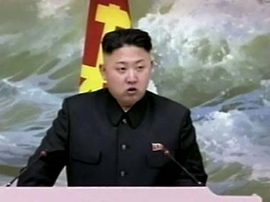 Kim Jong-Un. File photo. AP