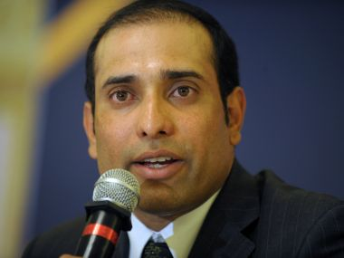 File photo of VVS Laxman. AFP