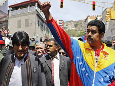 File photo of Nicolas Maduro. Reuters