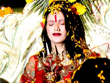 Radhe Maa in a file photo. IBNLive