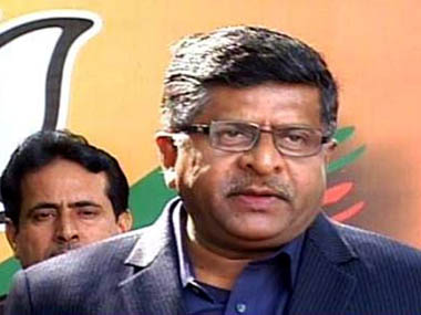 Ravi Shankar Prasad said the government should conduct a probe into the Ishrat Jahan case. IBNLive