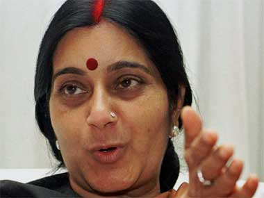 External Affairs Minister Sushma Swaraj. Reuters