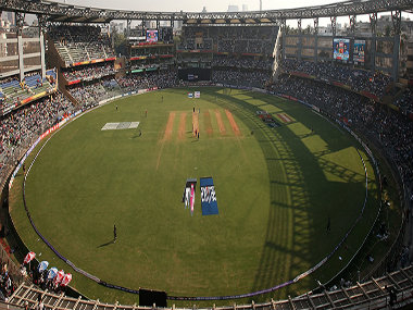 File picture of Wankhede Stadium. Getty Images