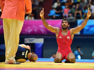 File photo of Yogeshwar Dutt. AFP