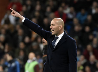 File photo of Zinedine Zidane. AFP