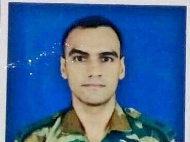 Major Amit Deswal was killed in an encounter in Manipur. Image courtesy: @ANI_news/Twitter