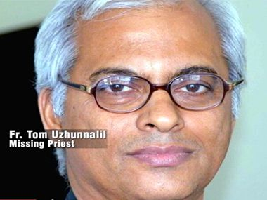 File image of Father Thomas Uzhunnalil. IBN Live