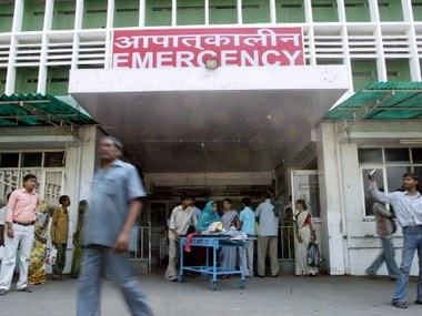 Aiims campus. File photo. AFP