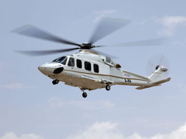 An Agusta Westland chopper. File photo. Reuters