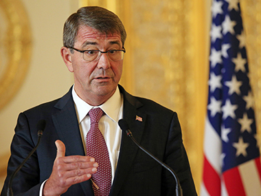 A file photo of Ashton Carter. Reuters