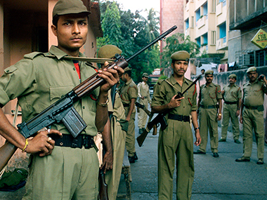 File photo of Assam police. Reuters