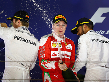 Image from Bahrain Gran Prix. Getty