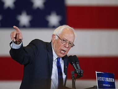 A file photo of Bernie Sanders. AP