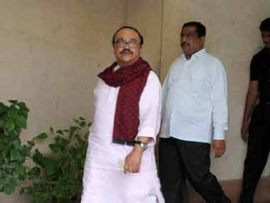 A file photo of Bhujbal. PTI