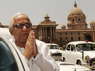 A file photo of Buddhadeb Bhattacharjee. AFP