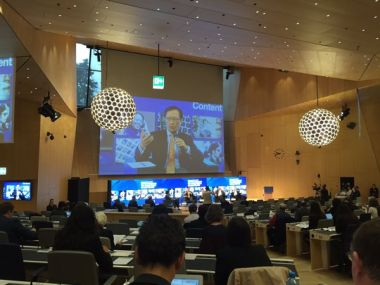 WIPO Conference on the Global Digital Content Market. Twitter @WIPO