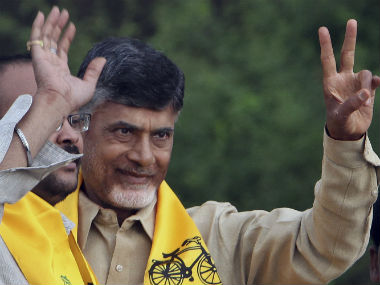 Chandrababu Naidu. File photo. AP