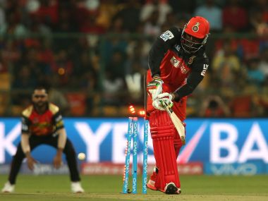 Chris Gayle of Royal Challengers Bangalore. BCCI