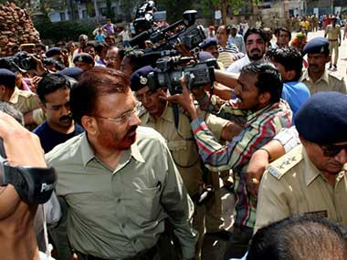 A file photo of DG Vanzara. AFP