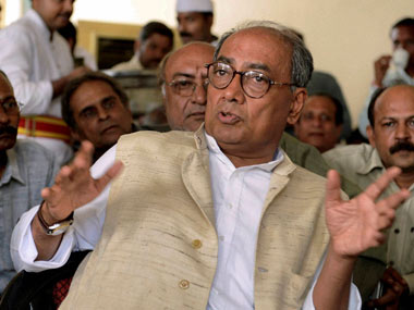 Congress General Secretary Digvijaya Singh. PTI