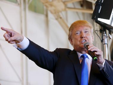 Donald Trump. Reuters.