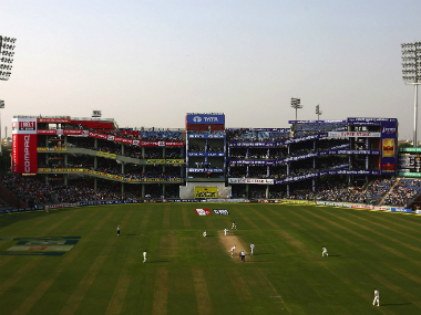 File photo of the Feroz Shah Kotla Stadium in Delhi. Getty Images