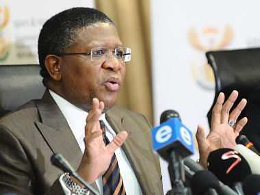 File picture of Fikile Mbalula. Getty Images