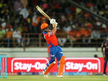 Aaron Finch in action against Rising Pune Supergiants. BCCI