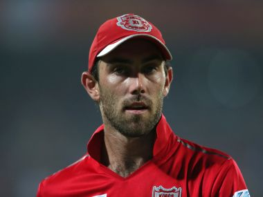 Glenn Maxwell of Kings XI Punjab. BCCI