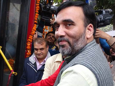 Gopal Rai. File photo. PTI