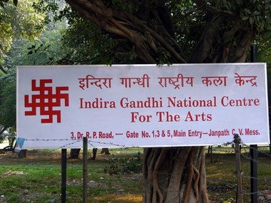 The IGNC campus. Image courtesy: Twitter/@india_samvad