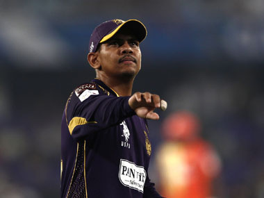 File photo of KKR player Sunil Narine. Image Courtesy: BCCI