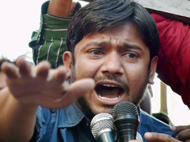 A file photo of Kanhaiya Kumar