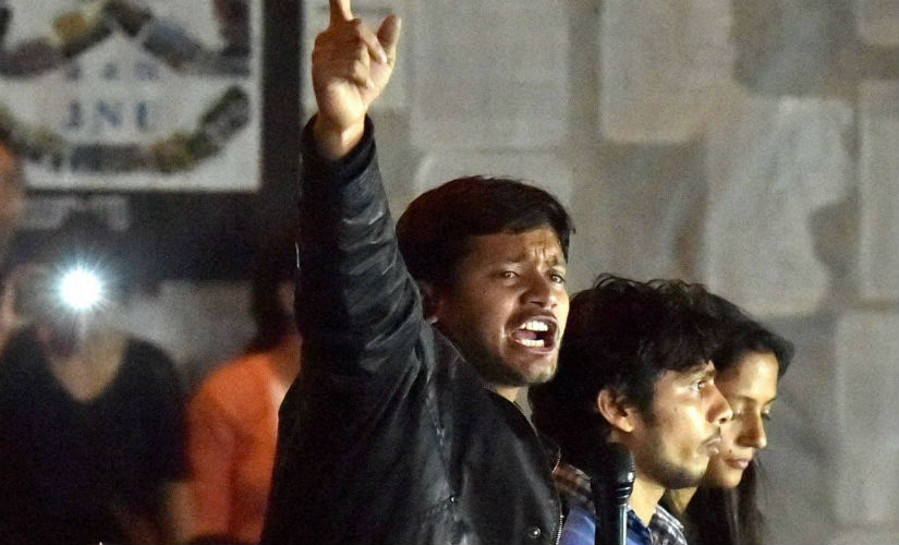 A Parliament session is probably not complete without some outrage linked to Kanhaiya Kumar. PTI