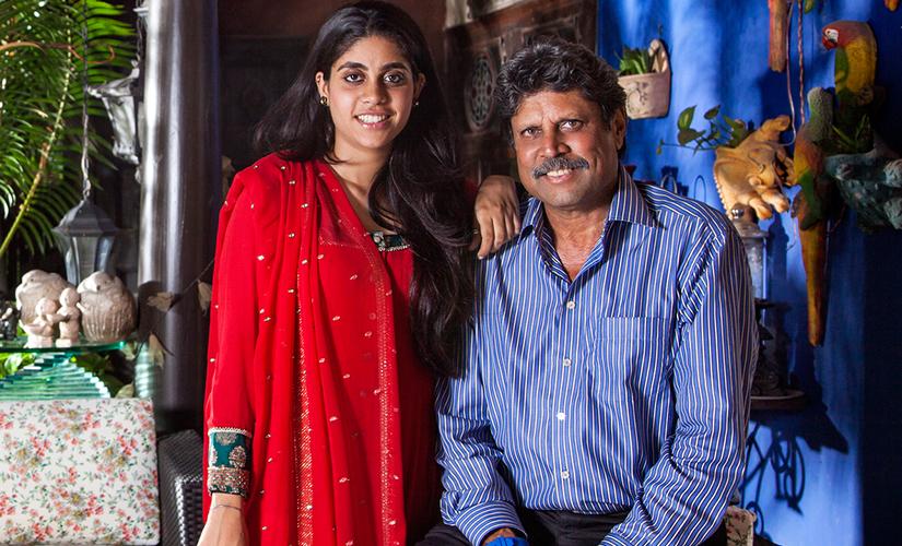 Kapil Dev with Ameya