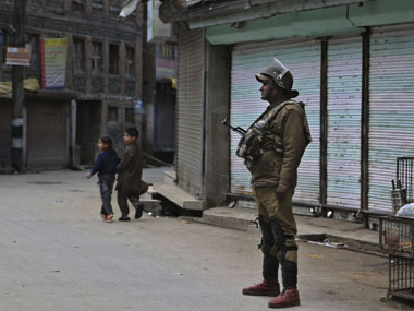 Internet services on mobile phones were snapped following violent protests in Kashmir. AP
