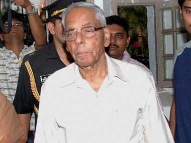 A file photo of MK Narayanan. PTI